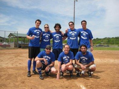 Acid Base Runners Kickball Team T-Shirt Photo