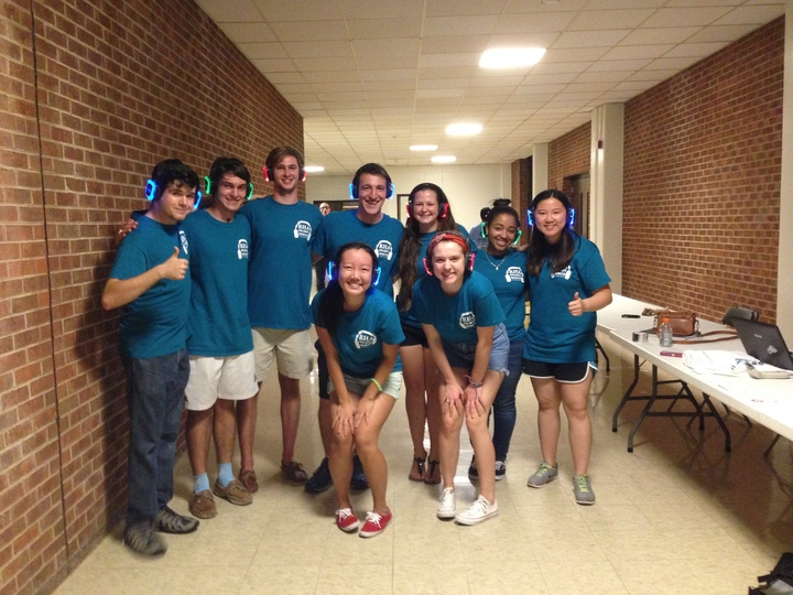 Unc Rha Silent Disco! T-Shirt Photo