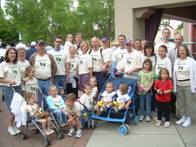 Tanner's Troopers Walk For A Cure   Jdrf T-Shirt Photo