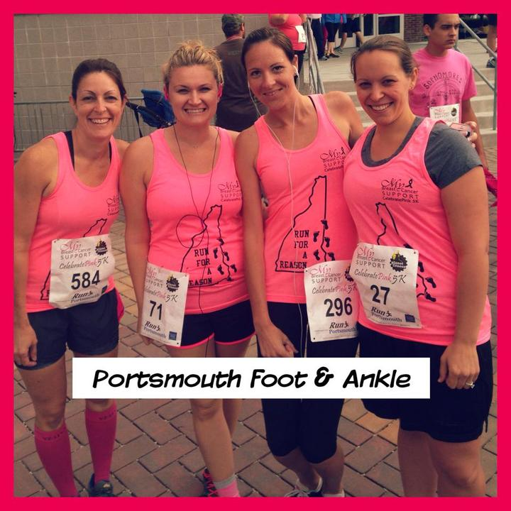 Celebrate Pink 5k T-Shirt Photo
