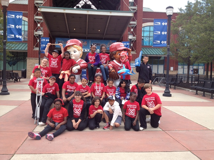 Our Last Field Trip Of The Year! Go Riversharks! T-Shirt Photo