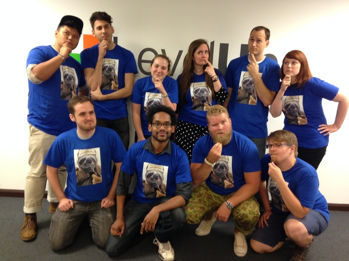 The Sleuth Sloths T-Shirt Photo