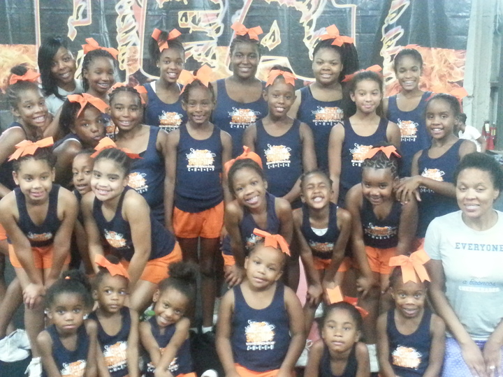 Bowie Broncos Cheer Elite Practice Wear!!!! T-Shirt Photo