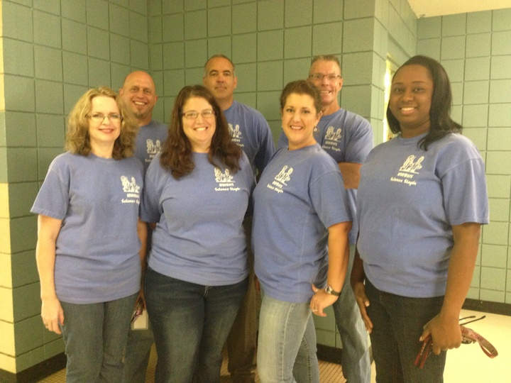Nwrhs Science Department T-Shirt Photo