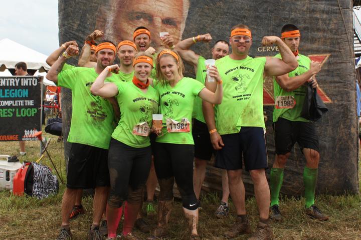 Team Muddy Mutts   Tough Mudder Msp 2014 T-Shirt Photo