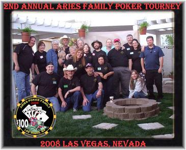 2nd Annual Aries Poker Tourney T-Shirt Photo