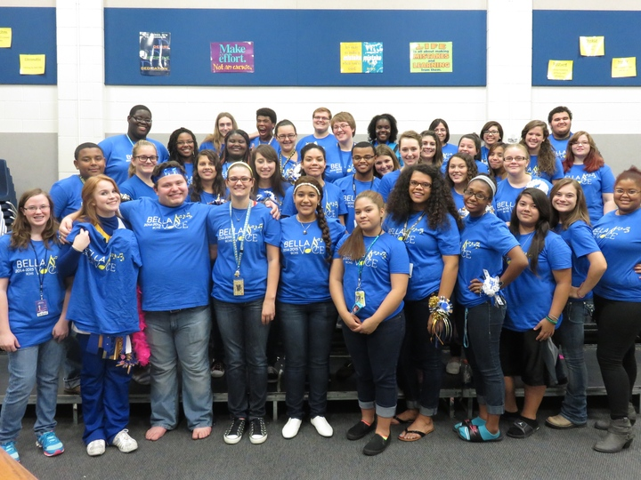 Bchs Advanced Choir T-Shirt Photo