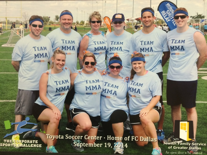 Team Mma At Corporate Challenge 2014 T-Shirt Photo