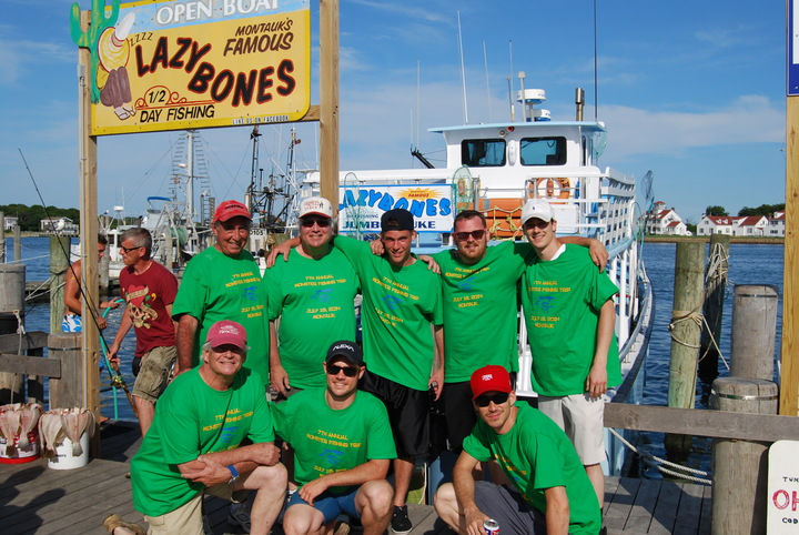 7th Annual Monster Fishing Trip 7/18/14 T-Shirt Photo