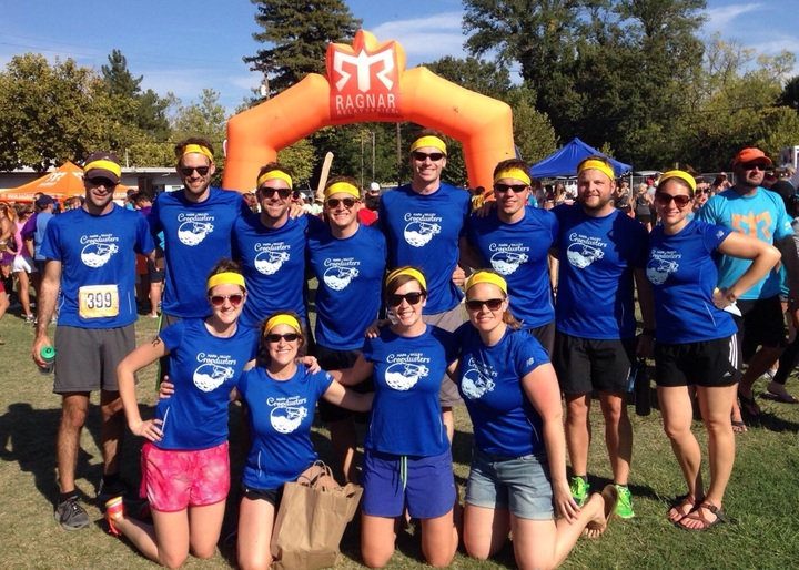 Napa Valley Cropdusters Crush Ragnar! T-Shirt Photo