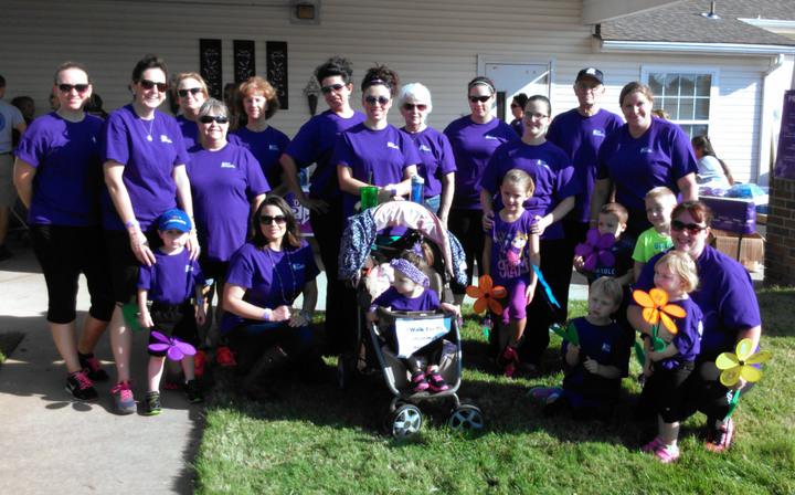 Alzheimer's Walk For A Cure! T-Shirt Photo