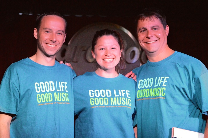 Good Life Good Music: A Benefit Concert For The Life Is Good Playmakers T-Shirt Photo