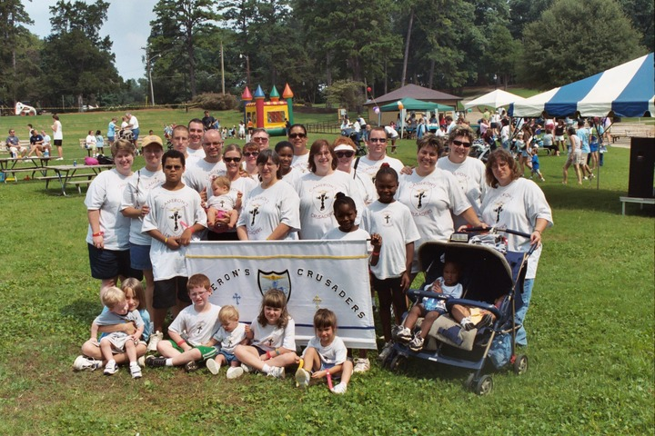 Cameron's Crusaders   Buddy Walk Dsac T-Shirt Photo