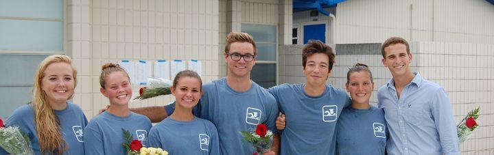 Seven Seniors Swimming T-Shirt Photo