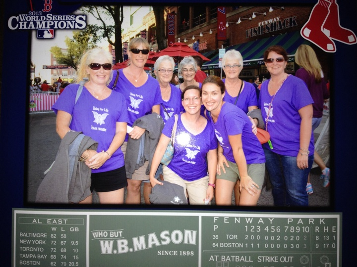Relay For Life Goes To Fenway! T-Shirt Photo