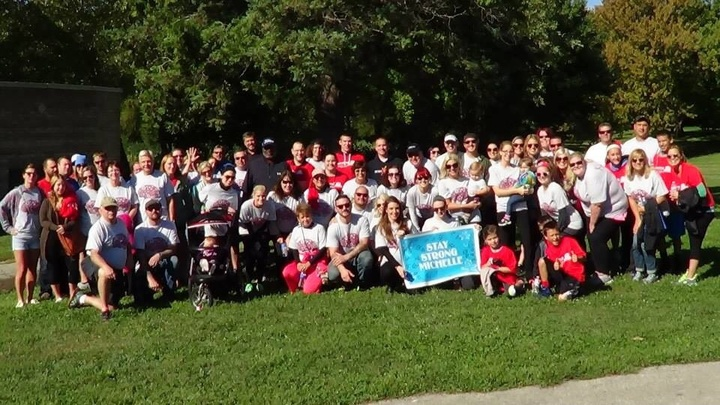 Brain Aneurysm Walk For 26y/O Michelle Snyder  T-Shirt Photo
