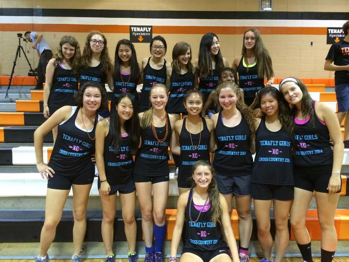 Tenafly Girls Cross Country T-Shirt Photo
