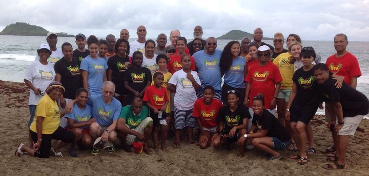 Hood Family Reunion In Grenada, West Indies T-Shirt Photo