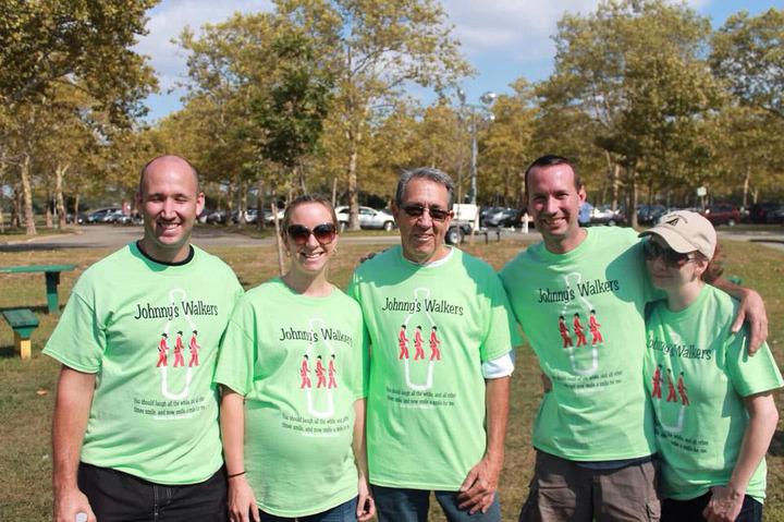 Johnny's Walkers   Als Walk T-Shirt Photo