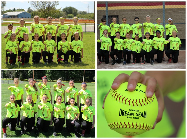 Illiana Dream Seams Fastpitch 10u 12u 14u T-Shirt Photo