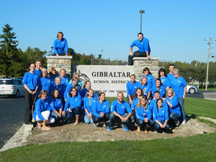 Gibraltar Elementary Staff T-Shirt Photo