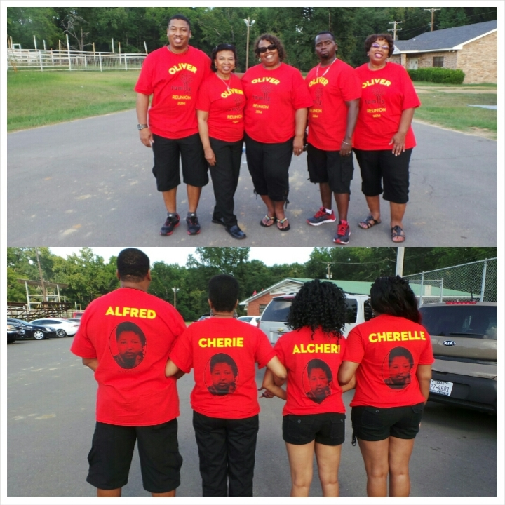 Oliver Family Reunion T Shirt Photo