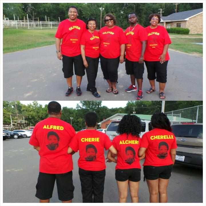 Custom T-Shirts for Oliver Family Reunion - Shirt Design Ideas