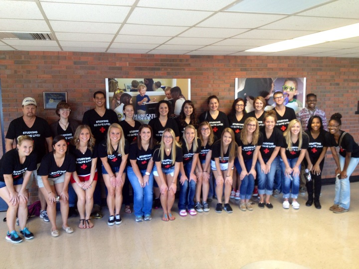 Wichita State University Future Health Care Professionals T-Shirt Photo