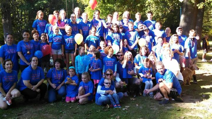 Jdrf Walk 2014 T-Shirt Photo