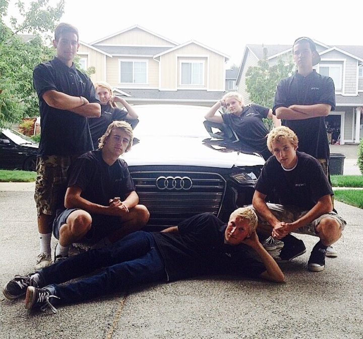 Merkel Auto Detailing Squad T-Shirt Photo