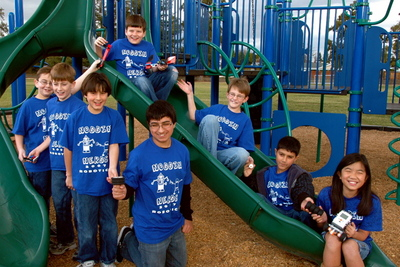 Seven Lego Nerds And A Chick Nerd T-Shirt Photo