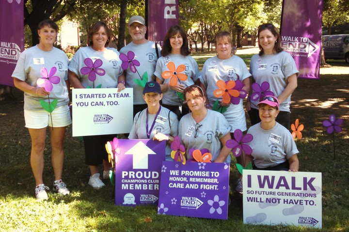 Panky's Pals Team In The Capital District Walk To End Alzheimer's 2014 T-Shirt Photo