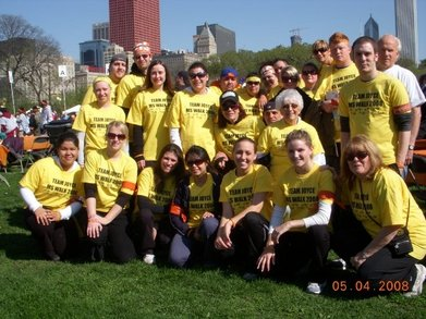 Ms Walk  Team Joyce Chicago T-Shirt Photo