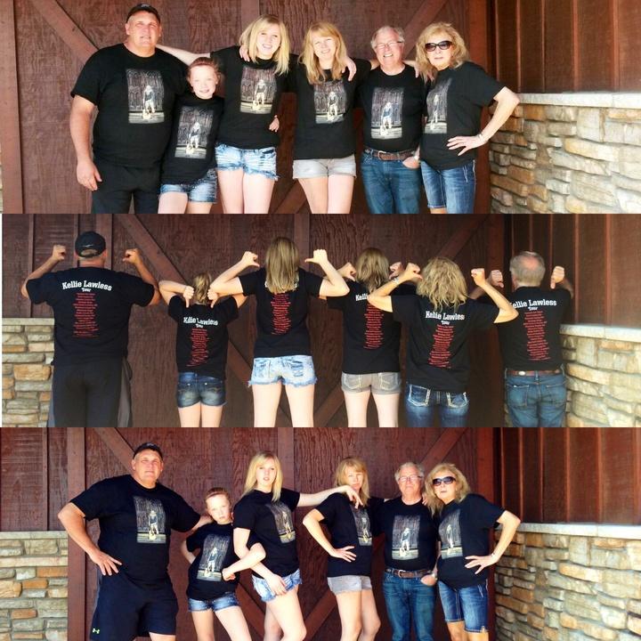 Kellie Lawless On Tour!  T-Shirt Photo