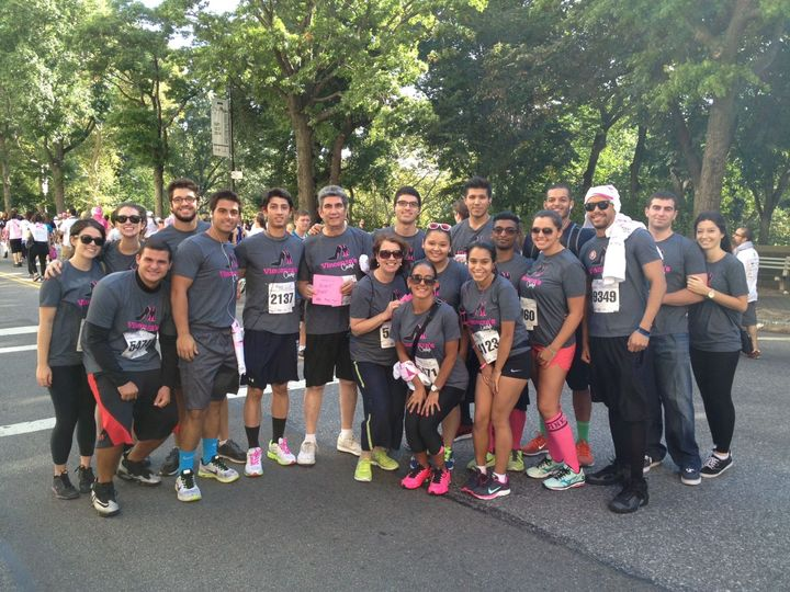 Vincenza's Chiefs (Susan G. Komen Nyc) T-Shirt Photo