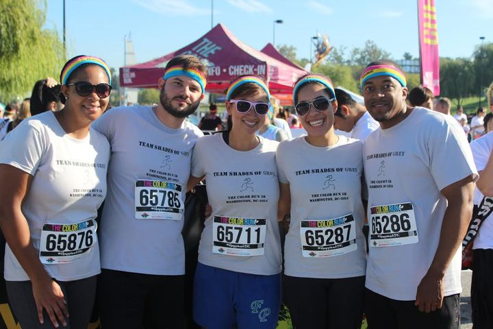 Color Run 2014 T-Shirt Photo