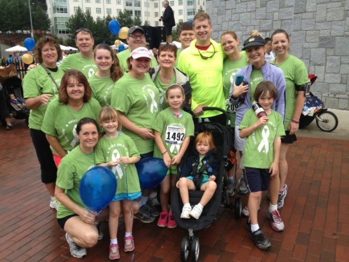 4th Annual 5 K To Raise Money For Cancer Research T-Shirt Photo