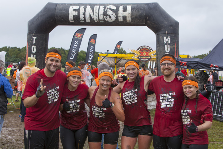 Team Hart Tough Mudder Michigan T-Shirt Photo