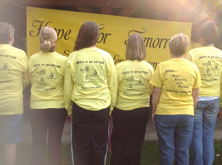 With Help, Comes Hope T-Shirt Photo