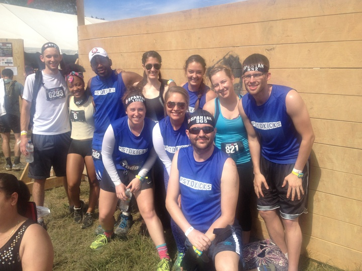 Spartan Race Pre Shot T-Shirt Photo