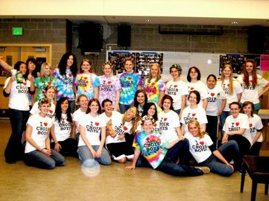 Chs A Choir Girls Love Choir Boys T-Shirt Photo