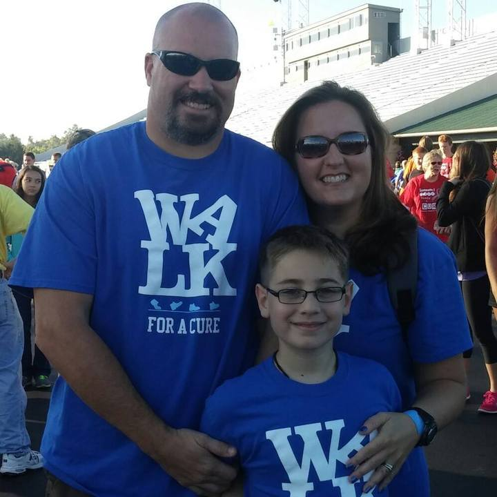 Jdrf Diabetes Walk T-Shirt Photo