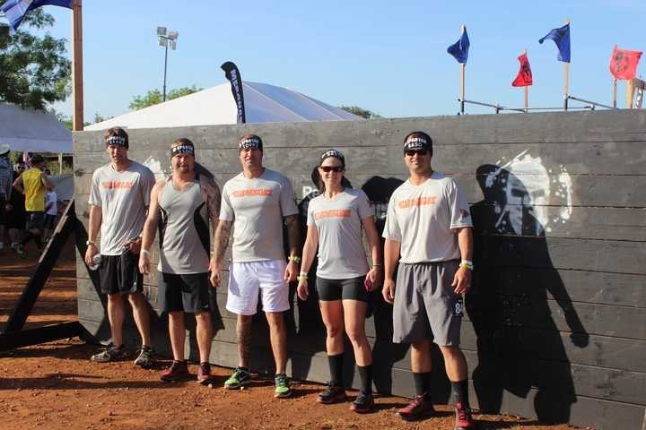 Team Vengeance   Austin Super Spartan T-Shirt Photo