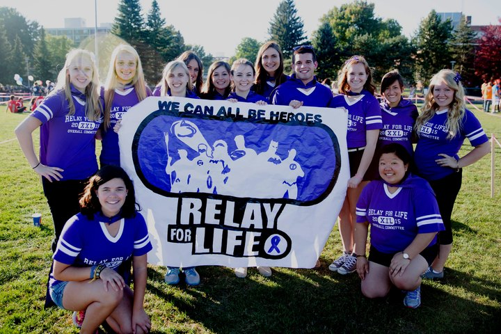 Relay For Life   We Can All Be Heros T-Shirt Photo