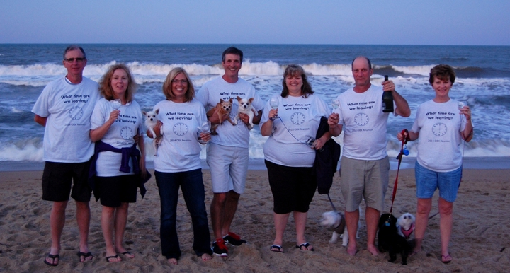Outer Banks (Obx) Reunion 2014 T-Shirt Photo