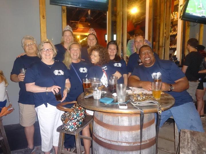 Ali's Bday Bar Crawl! T-Shirt Photo