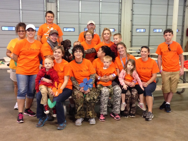 "Team For Helena's Memories Looking Sharp ""On The Hunt"" T-Shirt Photo"