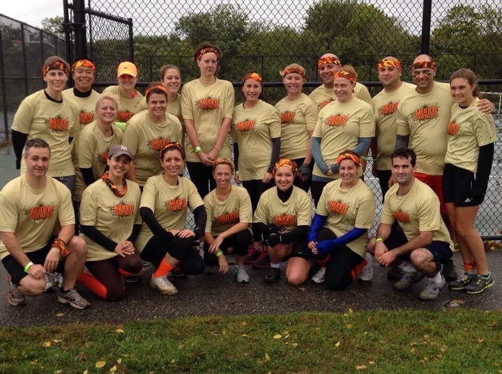 Muddy Rockers At The Sterling Down & Dirty Race 10/4/14 T-Shirt Photo