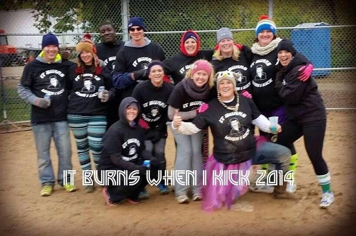 Kickball Team T-Shirt Photo