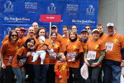 H S Crew Walks In The Revlon Run/Walk In New York  2008 T-Shirt Photo